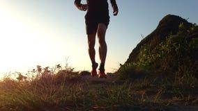 Dawn Trail Run Stock Photography