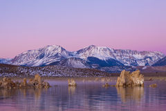 Dawn Tufa Reflections Stock Image