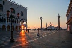 Dawn in Venice Royalty Free Stock Photos