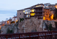 Dawn view of  Cuenca Royalty Free Stock Photography