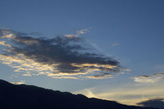 Dawning days over Velebit Royalty Free Stock Image