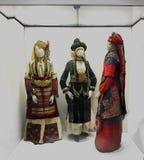 Dawność kostiumy 21 batalistycznych duży redakcyjnych rozrywki festiwalu wizerunku rycerzy średniowieczna narodu rosjanina drużyn zdjęcia royalty free