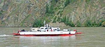 Dawson Alaska - transbordador del Yukón Foto de archivo