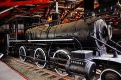 Locomotive shelter in Dawson City, Yukon. Dawson City, Yukon is the heart of the world-famous Klondike Gold Rush royalty free stock image