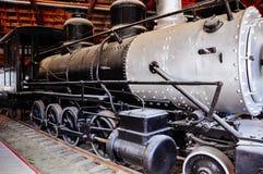 Locomotive shelter in Dawson City, Yukon. Dawson City, Yukon is the heart of the world-famous Klondike Gold Rush royalty free stock photo