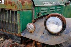 Old power wagon in Dawson City, Yukon. Dawson City, Yukon is the heart of the world-famous Klondike Gold Rush stock photos