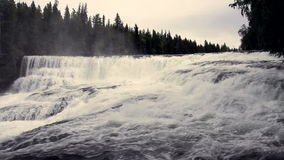 Dawson Falls stock footage