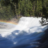 Dawson falls. In Clearwater Canada Stock Images