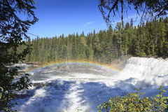 Dawson falls. In Clearwater Canada Stock Photography
