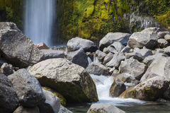 Dawson Falls Mount Taranaki Stock Photos