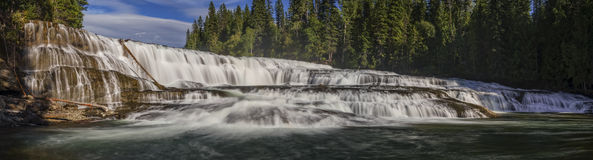 Dawson Falls, Wells Gray Provincial Park, near Clearwater, Briti. Sh Columbia, Canada Stock Image