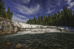 Dawson Falls, Wells Gray Provincial Park, near Clearwater, Briti. Sh Columbia, Canada Royalty Free Stock Image