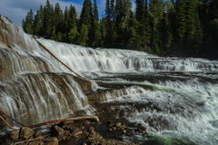 Dawson Falls. Wells Gray Provincial Park, near Clearwater, British Columbia Royalty Free Stock Image