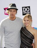 Dax Shepard and Kristen Bell Royalty Free Stock Photos