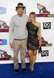 Dax Shepard und Kristen Bell stockbilder