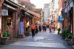 Daxi old street.Taiwan royalty free stock photography