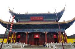 Daxiongbao Hall in Jinshan Temple Stock Photo
