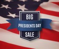Day总统销售背景模板 库存照片
