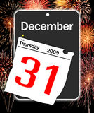 A day 31. Last day of the year, calendar date December 31 Stock Photos