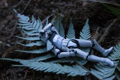 Day 31: Even troopers need a rest sometimes Royalty Free Stock Images