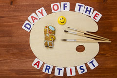 Day of the artist Royalty Free Stock Photo