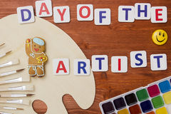 Day of the artist Royalty Free Stock Photography