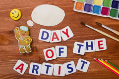 Day of the artist Royalty Free Stock Image