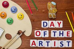 Day of the artist Stock Photography