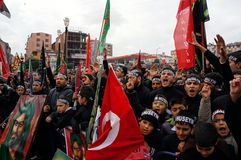 The Day of Ashura in Istanbul. Stock Photography