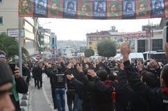 Day of Ashura. Istanbul, Turkey - November 3, 2014: Universal Ashura Mourning Ceremony. Day of Ashura Stock Images