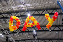 Day balloons Stock Photography