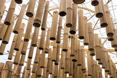 Day bamboo mobile Royalty Free Stock Image