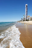 Surfers Paradise beach, Gold Coast Royalty Free Stock Photos