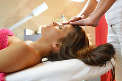 Day at the beauty salon Royalty Free Stock Photography