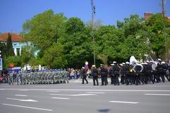 The Day of Bulgarian Army parade,Varna Royalty Free Stock Image