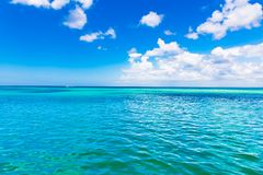 Day caribbean sea sky cloud Royalty Free Stock Images