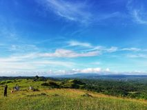 A day in the countryside. Somewhere in the Philippines Royalty Free Stock Image
