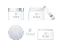 Free Day Cream Bottles Collection. Cosmetic Product Stock Image - 77931631