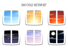 Day Cycle royalty free illustration