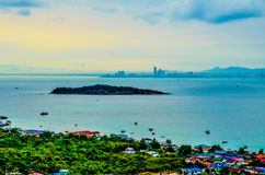 Day dawn service Ko Lan Pattaya Stock Image