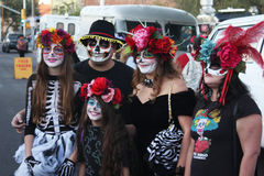 Day of dead all souls family pictures Royalty Free Stock Photo