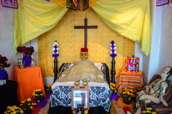 Day of the Dead Altar shown in the Brady Museum of Cuernavaca Stock Image
