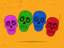 Day of the Dead background Stock Photography