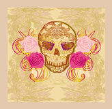 Day of the Dead card Stock Photography