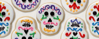 Day of the Dead cookies Royalty Free Stock Photography