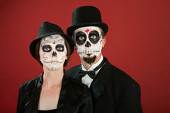 Day of the Dead Couple Royalty Free Stock Photos