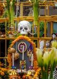 Day of the Dead Dia de los Muertos Decoration - Mexico City, Mexico Royalty Free Stock Image