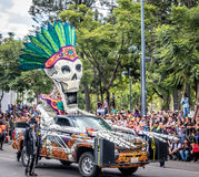 Day of the dead Dia de los Muertos parade in Mexico city - Mexico Stock Photography