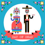 Day of the Dead (Dia de los Muertos) vector illustration