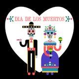 Day of the Dead (Dia de los Muertos) stock illustration